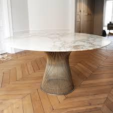 table warren platner en marbre années 70