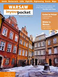 warsaw city guide warsaw poland