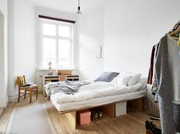 Simple Diy Bed Frame Neutral And Anonymous Design U2013 A Discussion On Sustainability And