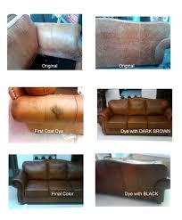 Cleaning Leather Chairs Magnificent Colored Leather Sofas House Revivals How To Dye A