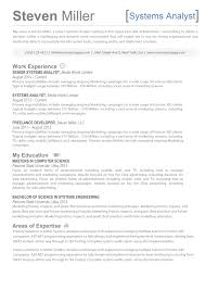 System Engineering Resume The Steven Resume Creative Resume For It Professionals