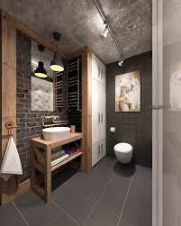 Bathroom Wall Design Ideas by 30 Awesome Industrial Bathroom Design Ideas