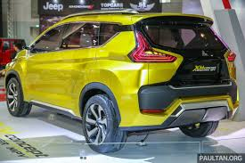 kereta mitsubishi attrage iims 2017 mitsubishi xm u0027low mpv u0027 coming this year