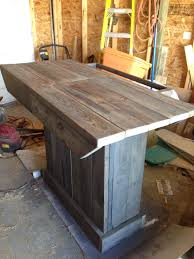 Outdoor Patio Bar Reclaimed Wood Project Outdoor Patio Bar 20 Of Materials
