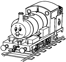 thomas the train coloring pages coloring page