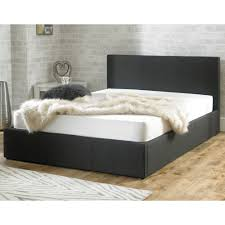 king size ottoman beds uk stirling ottoman 6ft super king size charcoal fabric bed sale