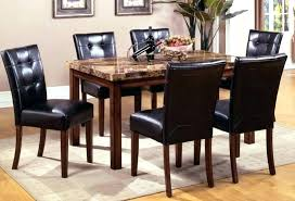 mission style living room tables furniture row dining tables dining chairs mission dining set 7