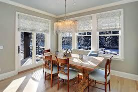 Dining Room Window Dining Room Window Treatment Photo Of Dining Room Window
