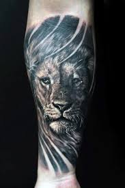 Forearm Tattoo Ideas For Men 40 Lion Forearm Tattoos For Men Manly Ink Ideas