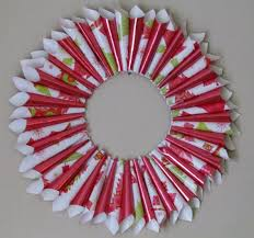 diy christmas wreath holiday gift wrap wreath arts u0026 craft 7