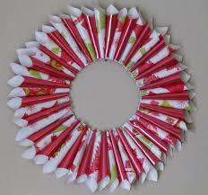 diy christmas wreath holiday gift wrap wreath arts u0026 craft 7