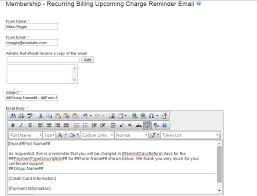 Subject Line For Resume Email Recurring Billing Email Management U2013 Imodules Support Center