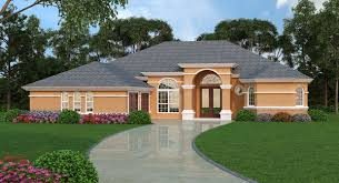 mediterranean house plan with 4 bedrooms and 3 5 baths plan 4942