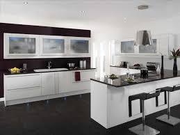 Interior Design In Kitchen Photos Appliances Handle Sleek Minimalist Island Kitchen Design