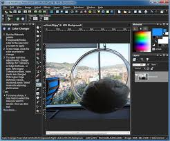 how to change background color in corel photo paint periodic tables