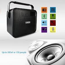 light up karaoke machine maono pa system with wireless microphone karaoke machine portable