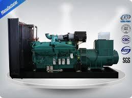 1000kw open type 3 phase water cool genset cummins diesel