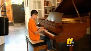 Blind Pianist Blind Fayetteville Teen Aspires To Be Concert Pianist Abc11 Com