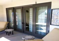 sliding glass door installation lovely arcadia door repair how to install patio porch sliding
