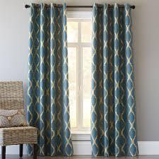 Moorish Tile Curtains Moorish Tile Curtain Teal Pier 1 Imports Home