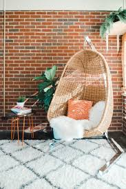 how to properly hang a woven rattan chair dream green diy