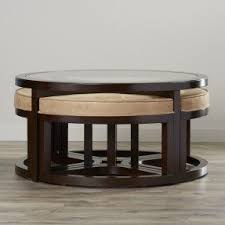 Coffee Table Set Coffee Table With Stools Foter