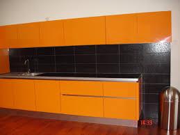 decoration cuisine avec faience faience orange awesome colorlab orange et chocolat en format xcm