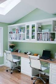 Bookcase Desks Build A Wall To Wall Built In Desk And Bookcase Desks Storage
