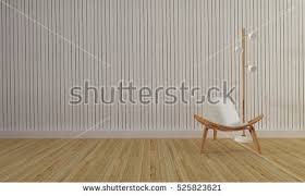 modern wood wall loft simple living room modern wood stock illustration 525823621