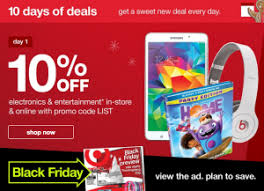 target black friday beauty deal target black friday preview sale 10 days of deals