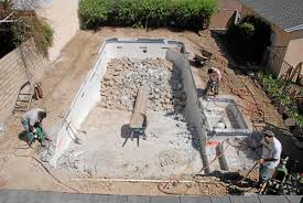 How Much To Landscape A Backyard by How Much Does It Cost To Remove A Built In Swimming Pool U2013 San