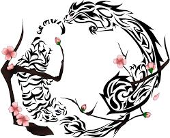tiger cherry blossom by robinsfantasy on deviantart