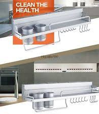 Stainless Steel Wall Spice Rack Ikea Stainless Steel Wall Shelf 15 X 7 Kitchen Spice Rack Storage
