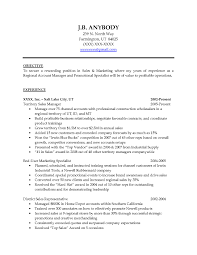 Good Resume Objectives 9 Sles 18 Writing Objective On - sales resume objectives exles resume