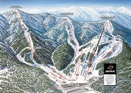 Green Circle Trail Map Trail Maps Big Bear Mountain Resort Winter