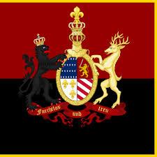 Lion Flag Faust N H Kendall