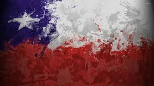 Texas Flag Chile Flag Chile Flag With Paint Drops Wallpaper Digital Art Wallpapers