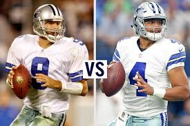 by the numbers comparing tony romo and dak prescott 5 points blue