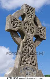 stock photography of celtic cross with celtic designs k7121750