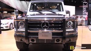 2015 mercedes benz g class g550 suv exterior and interior