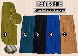 rok panjang muslim fashion stayle ala fadhilah rok panjang modern