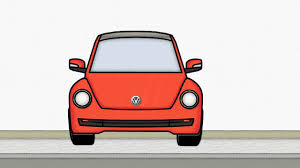 punch buggy car drawing how to draw volkswagen beetle 3 draw vw step by step easy
