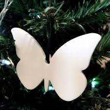 butterfly christmas tree decoration pack of ten servewell for