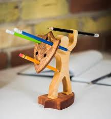 Cool Pen Holders | 40 unique desk organizers pen holders wooden furniture