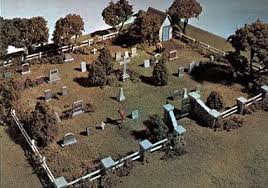 maple leaf cemetery kit ho scale ho scale model railroad building