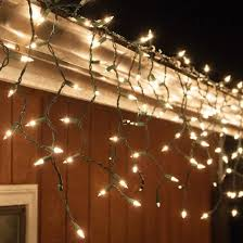 Multi Color Icicle Lights 100 Icicle Lights Multicolor Green Wire Yard Envy Christmas