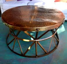 latest trend round metal coffee table med art home design posters
