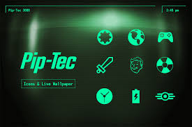 pipboy android theme pip tec fallout pip boy theme android development and