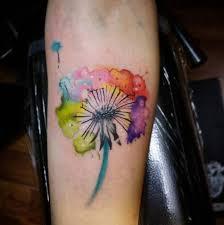 50 devastatingly delightful dandelion tattoos watercolor