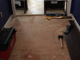 Can I Lay Laminate Flooring Over Tile Trying To Install Laminate Floors And Have Run Into A Snag My
